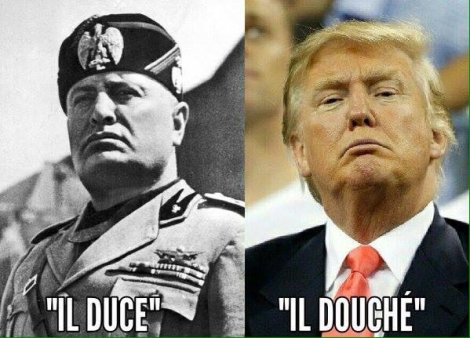 trump-mussolini-together