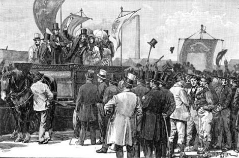 A Chartist Demonstration