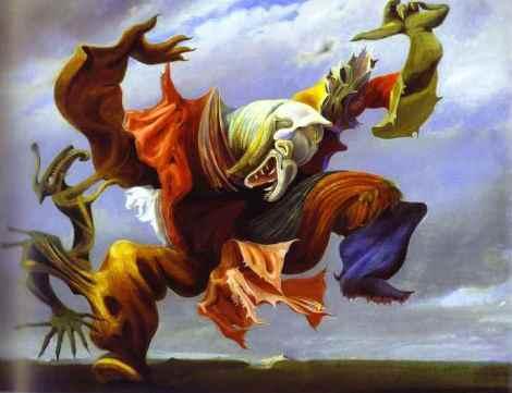 Max Ernst 'L'ange du foyer'
