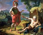 Diogenes Monsiau_-_Alexandre_et_Diogène